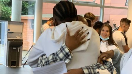 Students at Skinners' Academy were rejoicing after a rollercoaster year.