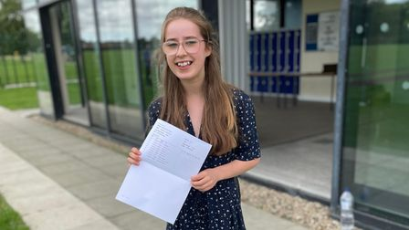 Madeline has received her GCSE results