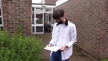 """Alex Prodan was """"really happy"""" with his high scoring 11 GCSEs"""