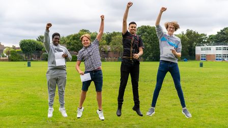 Royal Liberty studentsBenedict, Ben, Arjun and Connor have all achieved outstanding grades in their GCSEs.