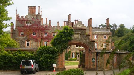 Albury Park is a Tudor mansion that was extendedin the 19th century by renowned architect Pugin
