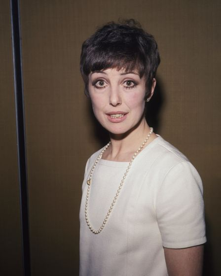 File photo dated 15/2/1968 of actress Una Stubbs.