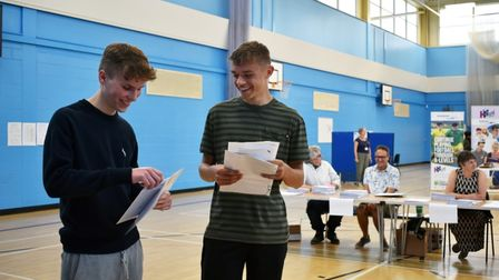 Chris Myer and Ethan Metcalf who both achieved grade 9s across the board.