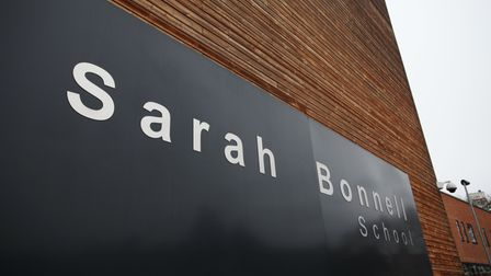 Sarah Bonnell School in Deanery Road, Stratford.