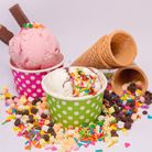Ice cream and sweets