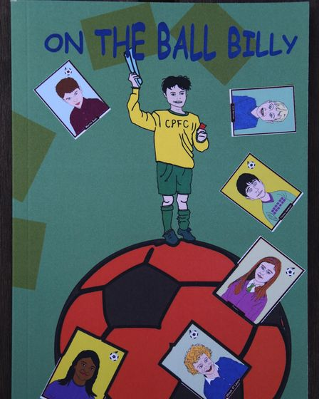 Children's book On The Ball Billy by Rex Barker. Picture: DENISE BRADLEY