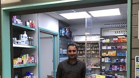 Anil Sharma, director of Alconbury Pharmacy, has worked tirelessly through the pandemic to help the community.