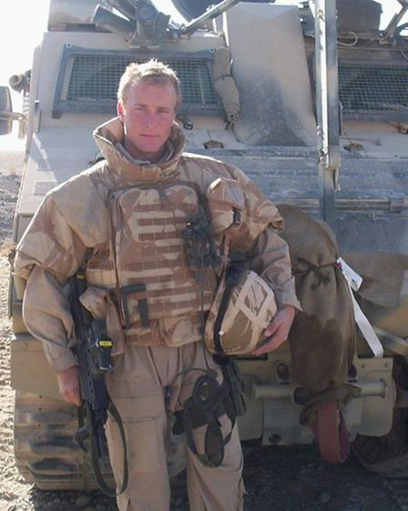 Joe Zipfel, who lives in Bowthorpe, served in Iraq and Afghanistan with the Royal Marines
