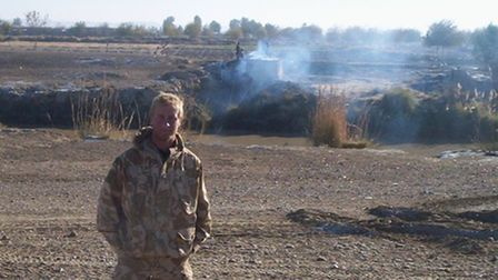 Joe Zipfel, from Thetford, was wounded on his third deployment with the Royal Marines