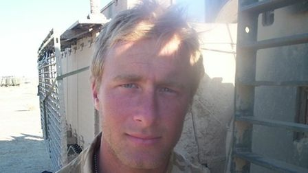 Joe Zipfel, who grew up in Thetford, served in the Royal Marines before getting injured