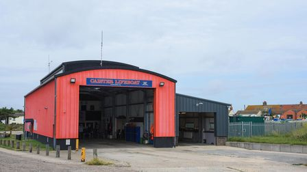 Caister Lifeboat Station. Picture: Danielle Booden