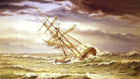 One of the stories told in the book is about the ship Ravensworth.