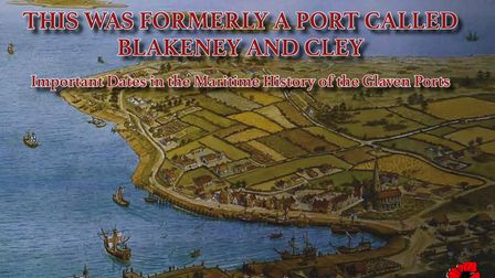 The front cover of Jonathan Hooton's new book,This was formerly a port called Blakeney and Cley.