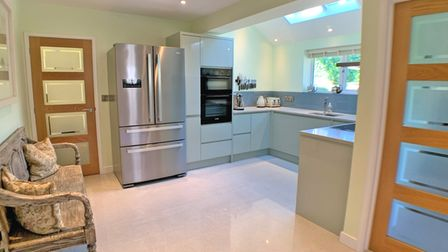 Detached chalet bungalow in Sidmouth