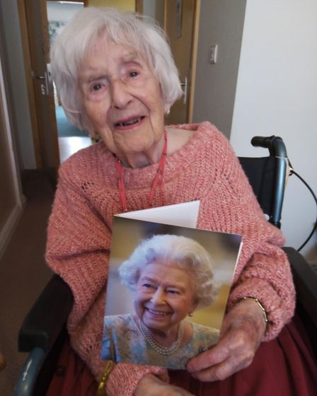 Angela Hutor has just turned 108 after surviving Covid last year.