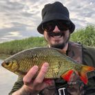 St Ives Tackle Shop owner Adam Bartlett landed this Rudd out on a fenland drain.