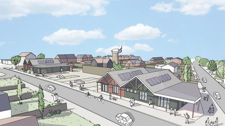 How the former Brickmakers pub will look once the site is redeveloped into a Co-op