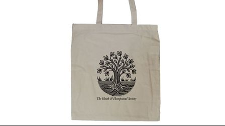 The Heath and Hampstead Society tote bag