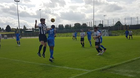Colney Heath played their historic first game in the Southern League at Creasy Park against AFC Dunstable