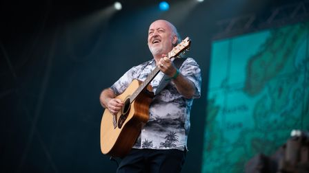 Bill Bailey drew in a huge crowd on Sunday at Latitude. Picture: Sarah Lucy Brown