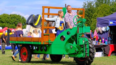A scene from this year's Marsham Show.