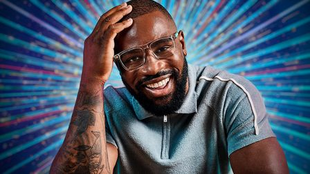 Former England rugby international Ugo Monyewill dance in Strictly Come Dancing 2021.