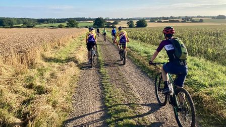 Stevenage Cycling Club tackle gravel roads on their epic trip to King's Lynn