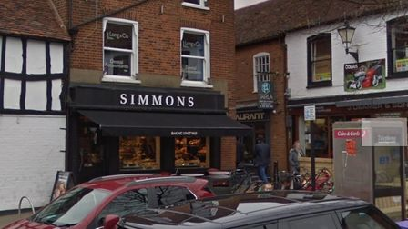 Simmons has reopened in Stevenage Old Town. Picture: