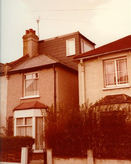 Mary bought this property, left, in Worcester Park, Surrey, in 1979.
