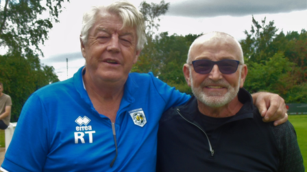 Ray Thompson, pictured left,and Ian Harrison.