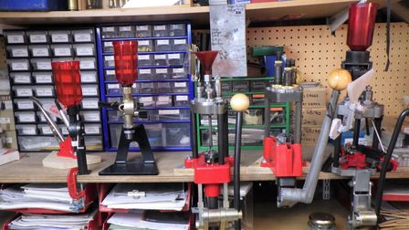 A reloading bench