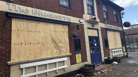 The Blueberry Music House on Cowgate in Norwich.