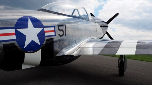 The SW-51 - a 70% scale version of the P-51 Mustang plane
