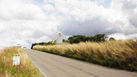 Windependence Day - Great Chishill Windmill.Picture: Karyn Haddon