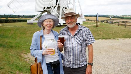 Windependence Day - James and Kathryn Robinson enjoy the day out.Picture: Karyn Haddon