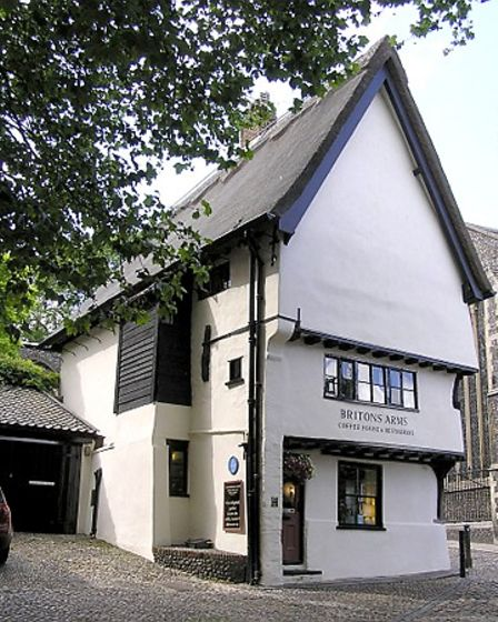 The Britons Arms in Norwich.