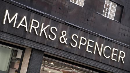 General View of a Marks & Spencer store in London.