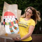 Sophie Iye has been making bags of goods to help children in care homes. Picture: Sarah Lucy Brown