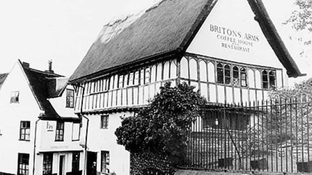 The Britons Arms, pictured in 1977.