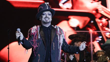 Boy George of Culture Club playingHeritage Live at Audley End. Photo: © Celia Bartlett