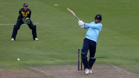 Paul Walter in batting action for Essex against Glamorgan