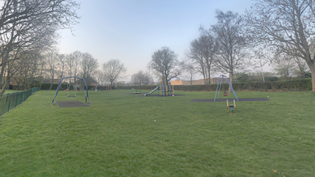 Roe Hill Park in Briars Lane