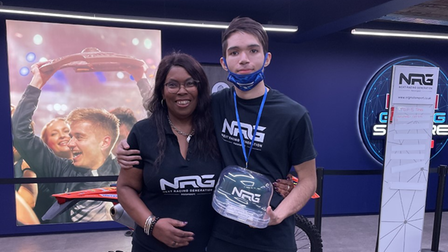 Wood Green racing star Brandon Abraham has joined forces with NRG's, Next Racing Generation.