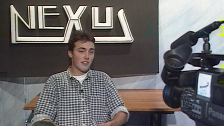 Nexus - Station Manager Stuart Campbell in May 1995