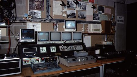 The Nexus control room in the mid-70s