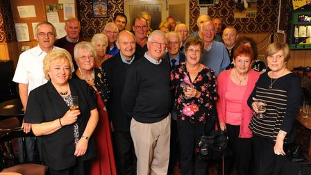 Former Van Dal shoe factory staff at their reunion at Norwich Working Men's Club. Photo: Steve Adams