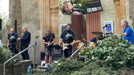 Musician and friends perform in honour of Jimmy C at St Mary's Church Tower