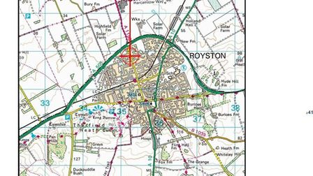 CK Hutchison Networks (UK) Ltd, which runs 3 UK phone network, wants to install a 5G mast outside Royston Evangelical Church