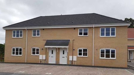 East Suffolk Council has recently completed the purchase of the 10 new homes in Nursery Close, Lowestoft