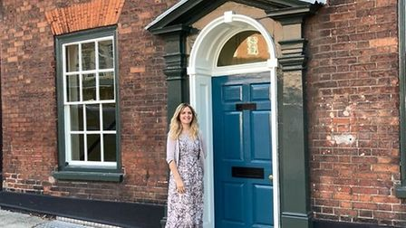 OwnerJemma Winzor-Saile at the new home of The Cottage Hair and Beauty salon in All Saints Green in Norwich.